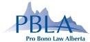 Pro Bono Law Alberta Logo